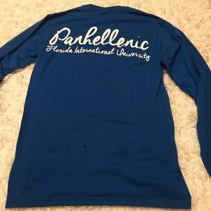 Tops - FIU Panhellenic Long Sleeve Tee